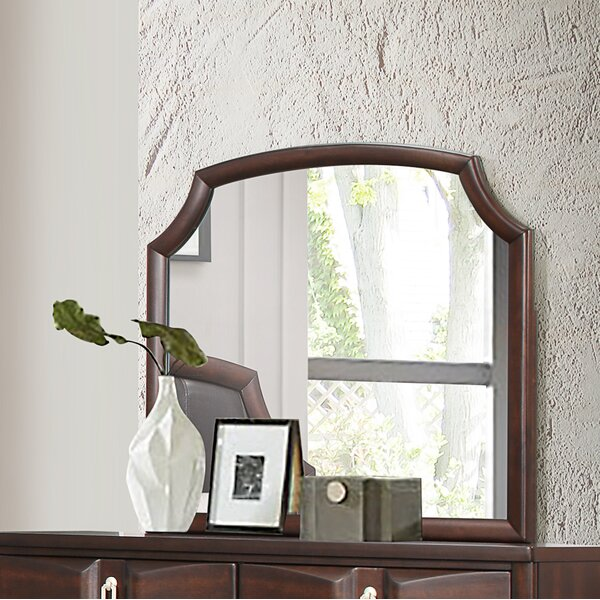 Redbrook Arched Dresser Mirror by World Menagerie