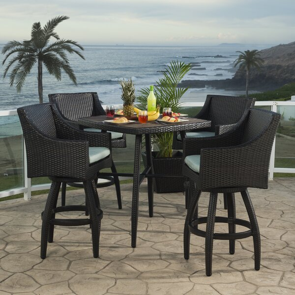 Northridge 5 Piece Bar Height Dining Set by Three Posts