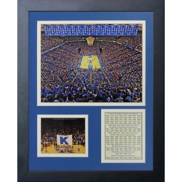 Kentucky Wildcats Rupp Arena Framed Memorabilia by Legends Never Die