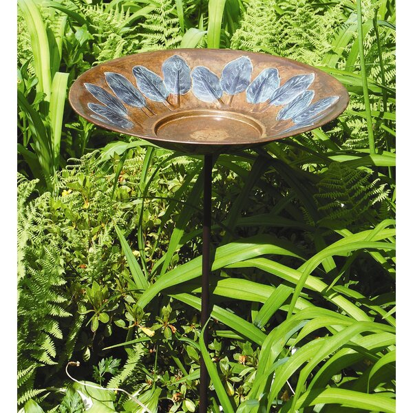 Leaf Array Birdbath by Birch Lane™