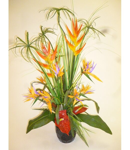Deluxe Cypress Tropical Arrangement by LCG Florals