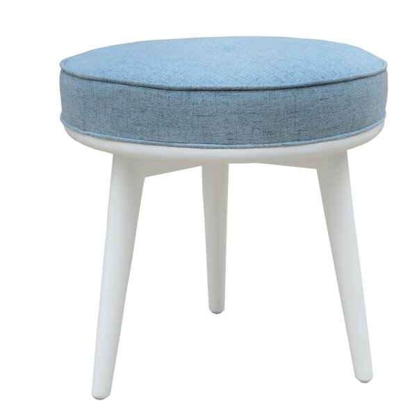 Quevedo Side Vanity Stool by Wrought Studio