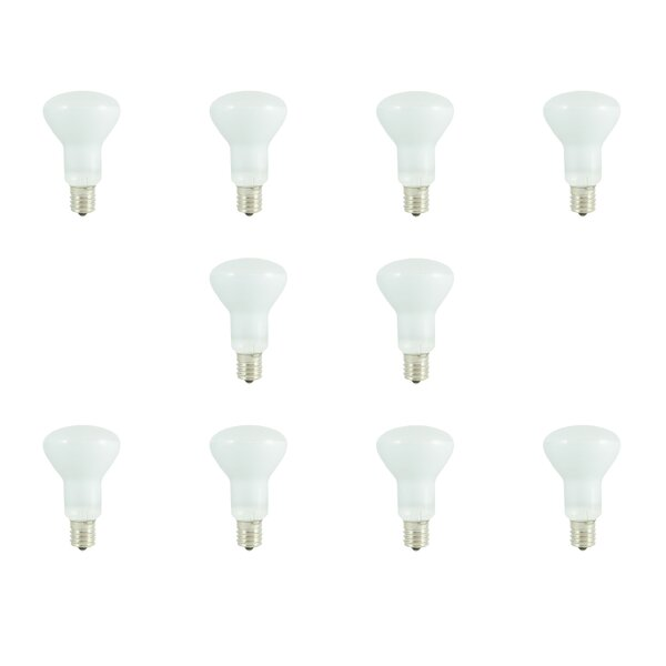 50W E17 Dimmable Incandescent Light Bulb Frosted (Set of 10) by Bulbrite Industries