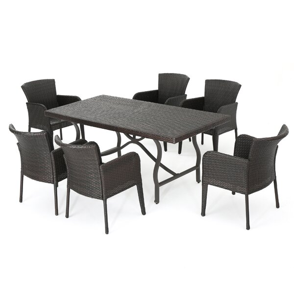 Monterey 7 Piece Dining Set by Ivy Bronx