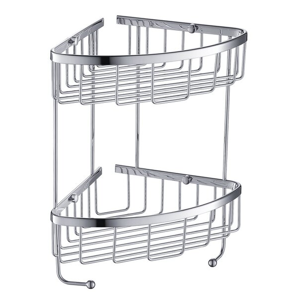 2 Tier Wire Shower Caddy by Fresca