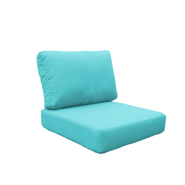 Miami Outdoor Lounge Chair Cushion by TK Classics