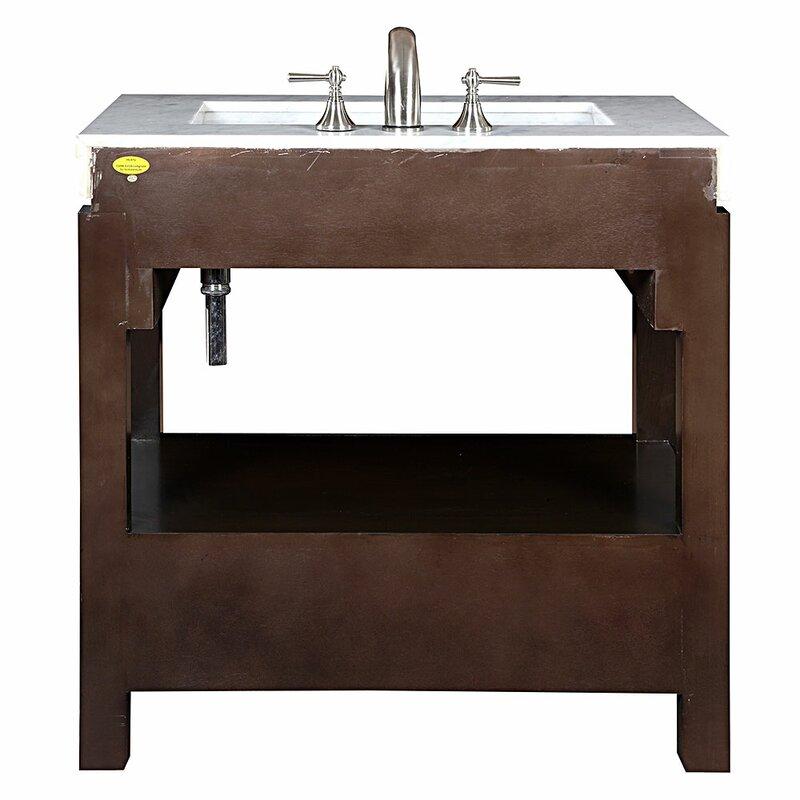 Default nameSilkroad Exclusive Stanton 36  Single Bathroom Vanity Set  . Discount Bathroom Vanity Columbus Ohio. Home Design Ideas
