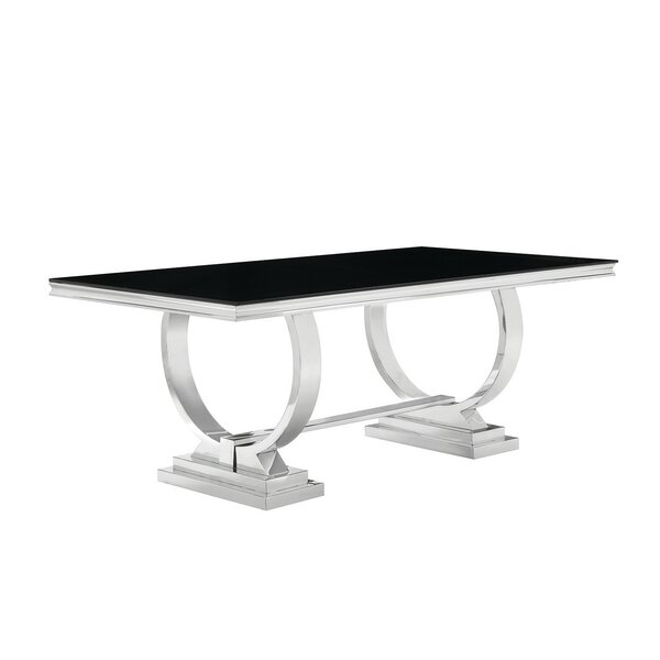 Rebeccah Dining Table by Orren Ellis