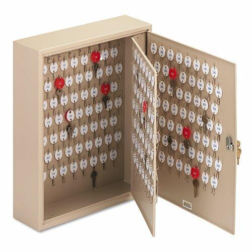 Locking 2-Tag Key Cabinet by Steelmaster