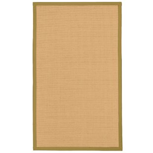 Rupendra Hand-Woven Beige Area Rug by Gracie Oaks