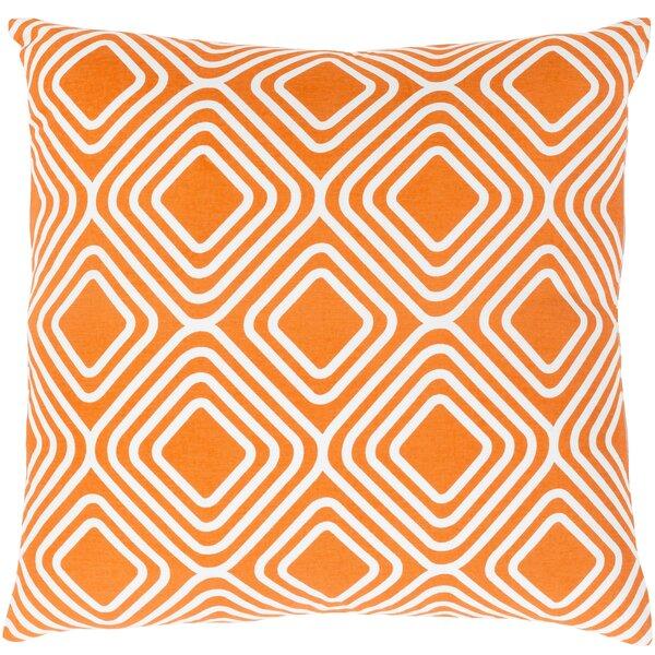 Miranda Cotton Throw Pillow by clairebella