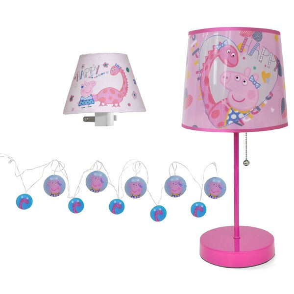 Character 3 Piece Lamp Set by Idea Nuova