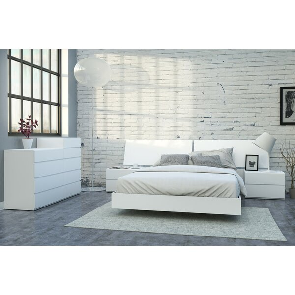 Gabriella Platform 5 Piece Bedroom Set by Wrought Studio