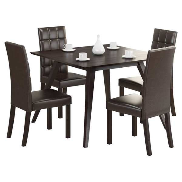 Jodie 5 Piece Dining Set by Ivy Bronx