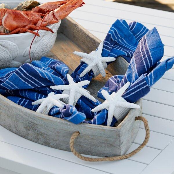 Starfish Napkin Ring (Set of 4) by Birch Lane™