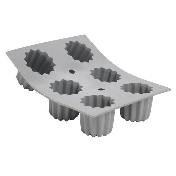 Elastomoule Silicone Cannele Portions Mold by De Buyer