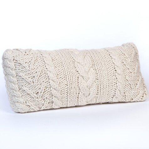 Avery Chunky Acrylic Lumbar Pillow by Eider & Ivory