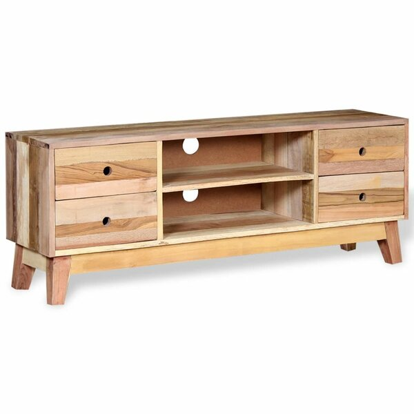 Solid Wood TV Stand By Union Rustic