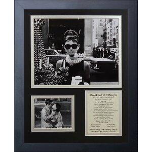 Breakfast At Tiffany's Framed Memorabilia by Legends Never Die