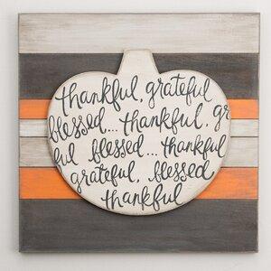 Pumpkin Textual Art by Glory Haus