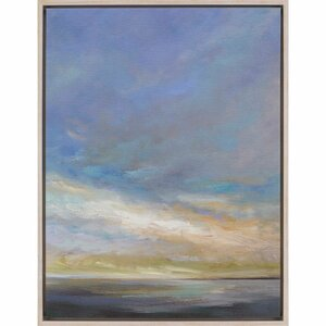 'Coastal Clouds III' by Finch Framed Painting Print by Paragon