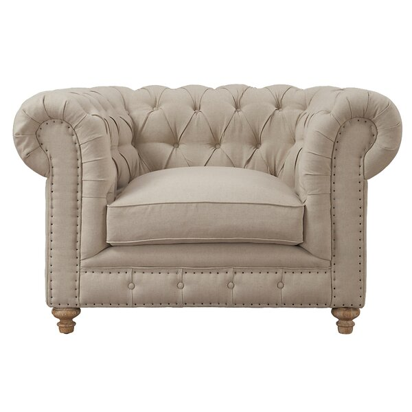 Lennert Chesterfield Chair by Willa Arlo Interiors