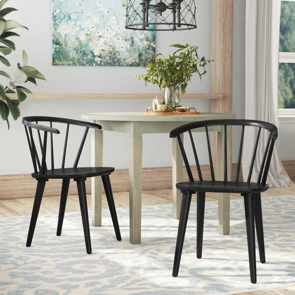 Looking for Brigg Solid Wood Dining Chair (Set Of 2) By August Grove Sale