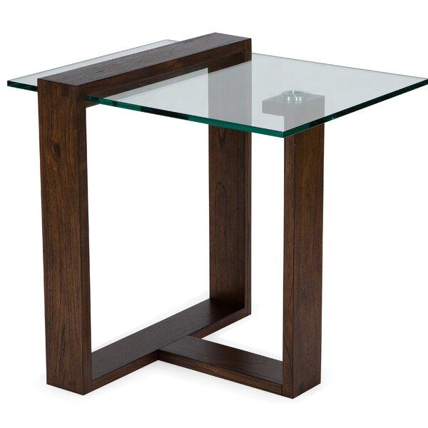 Khan End Table By Orren Ellis