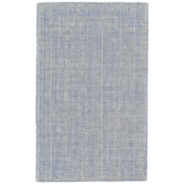 Sugarland Hand-Loomed Azure Area Rug by Wrought Studio