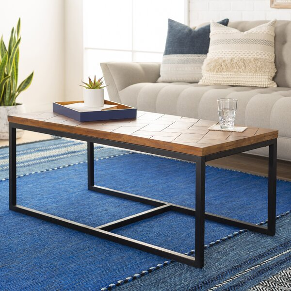 Sisk Coffee Table By Union Rustic