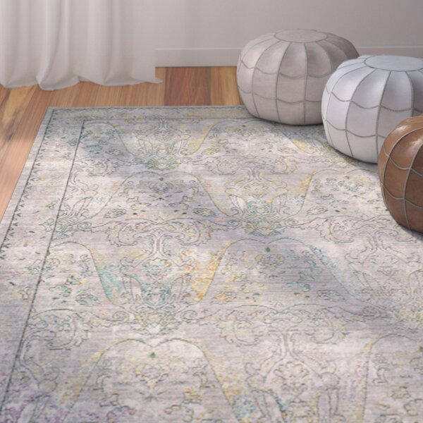 Lulu Gray / Multi Area Rug by Mistana