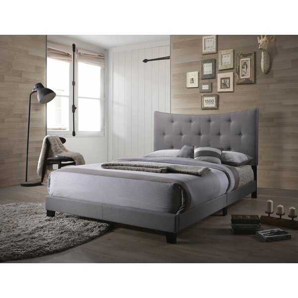 Swanner Queen Upholstered Standard Bed by Wrought Studio
