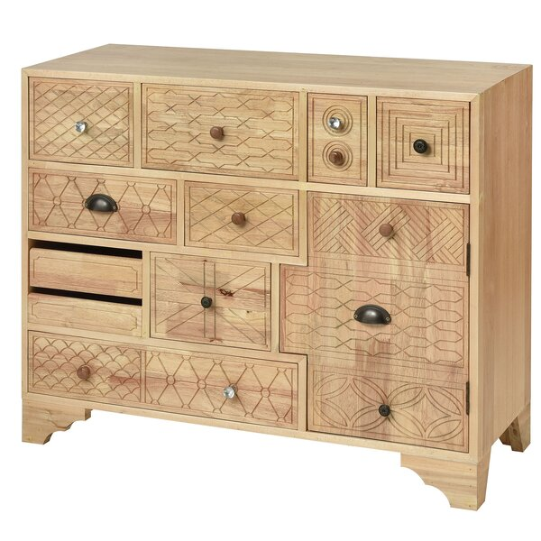 Conde 10 Drawer Accent Chest by Bungalow Rose Bungalow Rose
