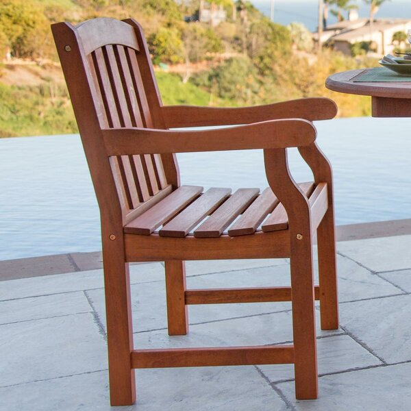 Monterry Patio Dining Chair By Beachcrest Home