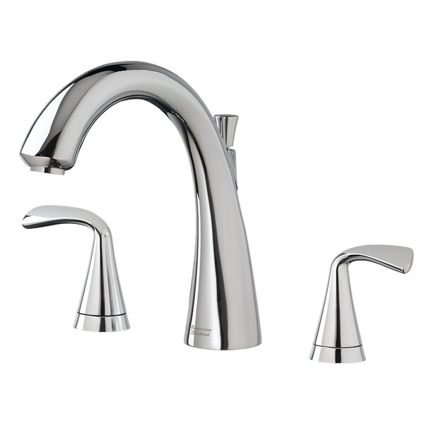 Fluent Double Handle Deck Mounted Roman Tub Faucet Trim by American Standard American Standard