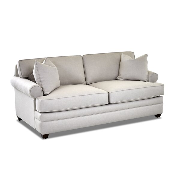 Living Your Way Rolled Arm Apartment Sofa By Klaussner Furniture