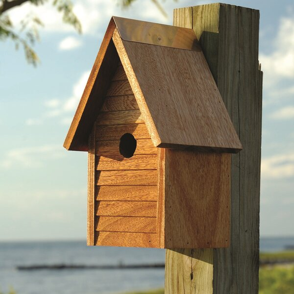 Starter Home 12 in x 7 in x 6 in Birdhouse by Heartwood