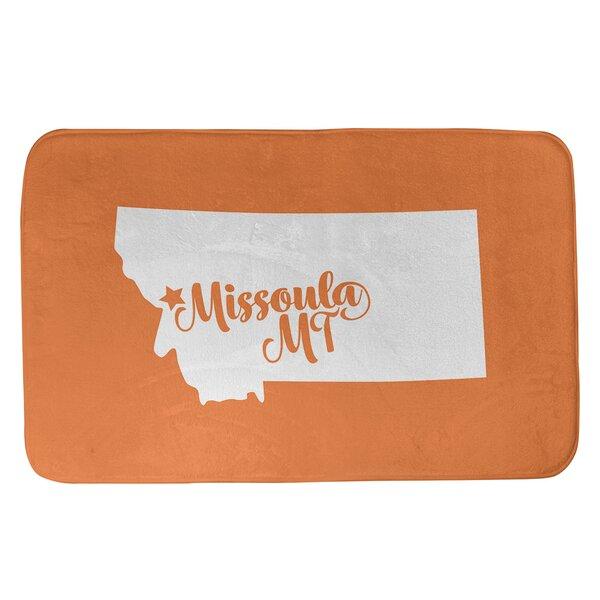 Missoula Montana Bath Rug