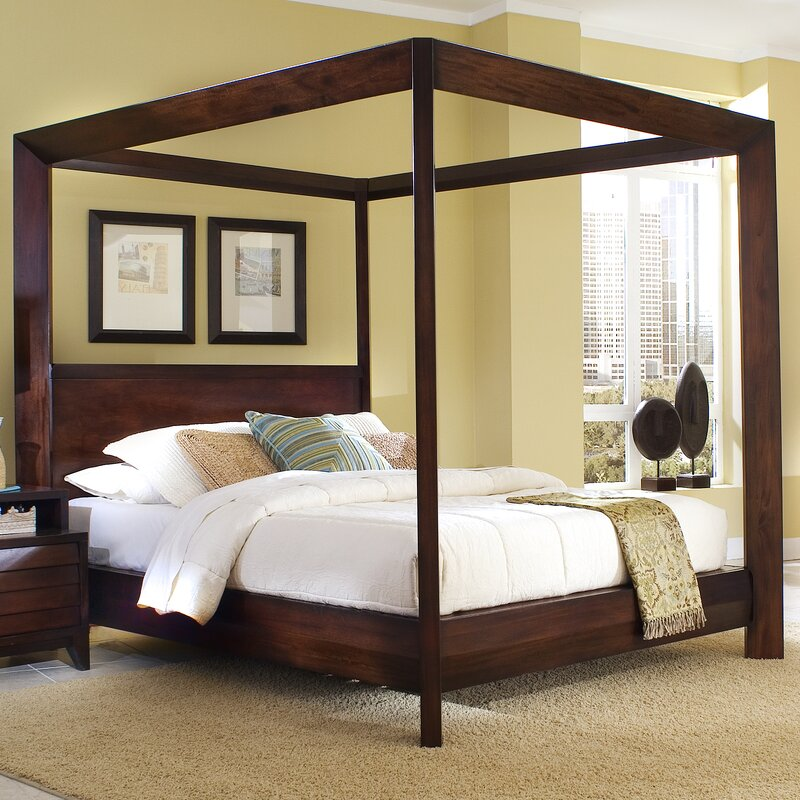 Wonderful Island Canopy Configurable Bedroom Set