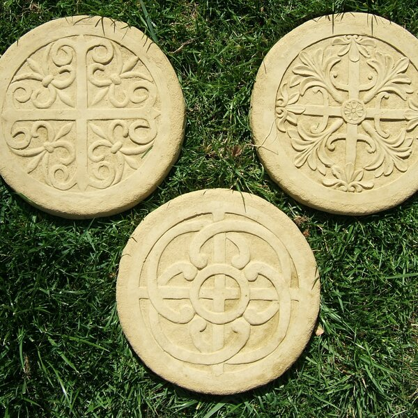 Celtic Stepping Stone Set (Set of 3) by Designer Stone, Inc