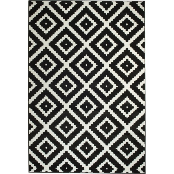 Cheney Black Indoor Area Rug by Zipcode Design