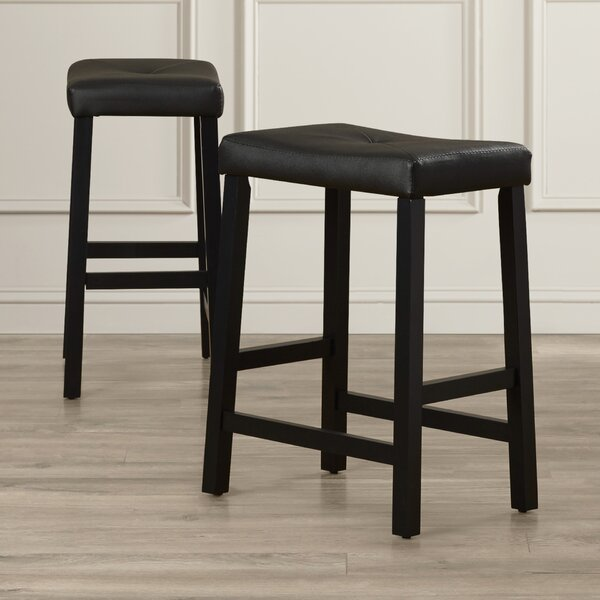 Lottie 24 Bar Stools (Set of 2) by Darby Home Co
