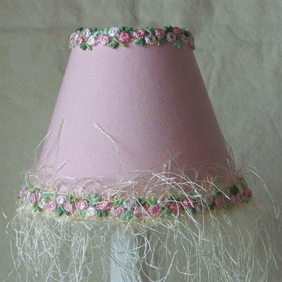 Blushing Princess 11 Fabric Empire Lamp Shade by Silly Bear Lighting