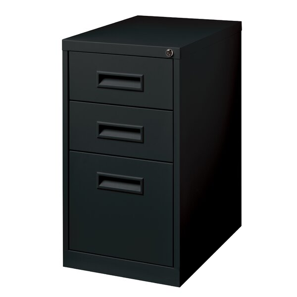 3 Drawer Mobile Pedestal File Vertical Filing Cabinet by CommClad