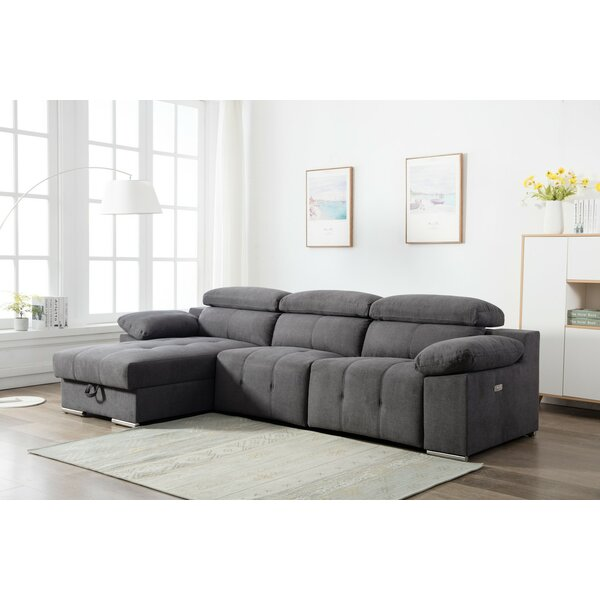 Best #1 Jancis Reclining Sectional By Latitude Run Savings