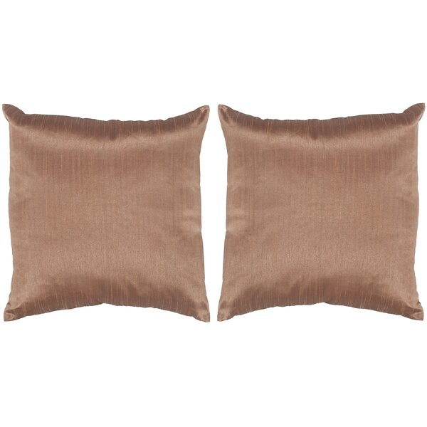 Luster Throw Pillow (Set of 2) by Safavieh