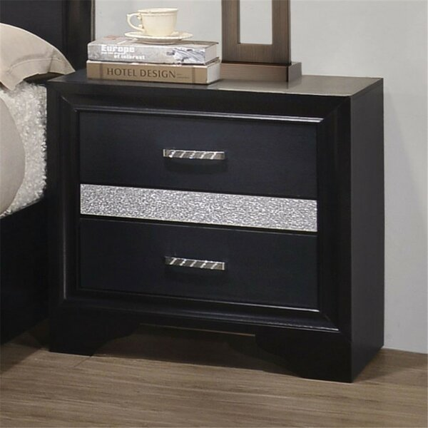 Pearce 2 Drawer Nightstand by House of Hampton