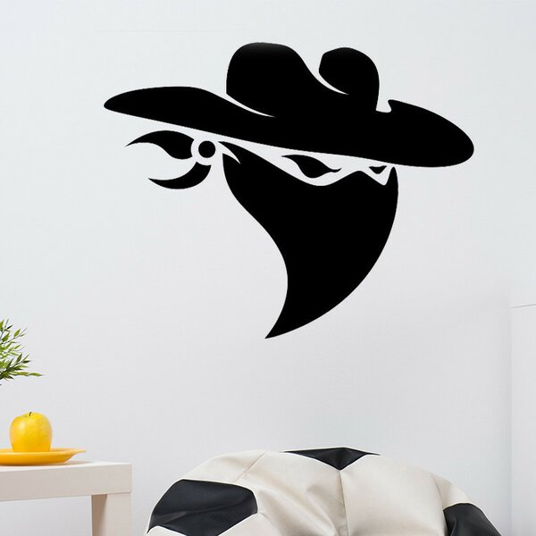 Cowboy Bandit Wall Decal by Style and Apply
