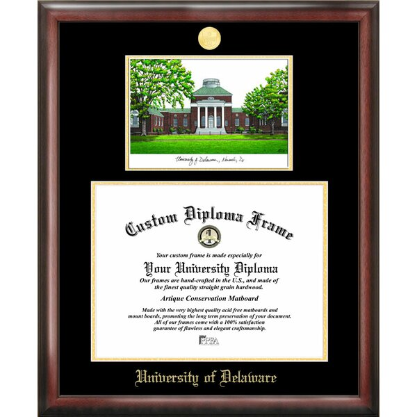 NCAA Delaware University Diploma Picture Frame by Campus Images