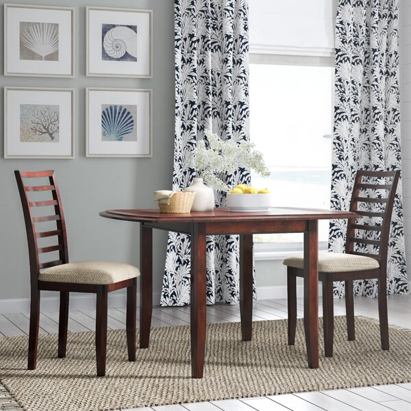 Thatcher 3 Piece Extendable Dining Set by Beachcrest Home